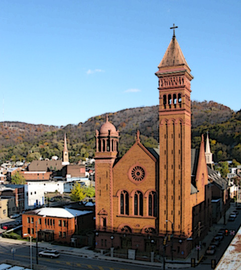 St John Gualbert Cathedral Johnstown PA