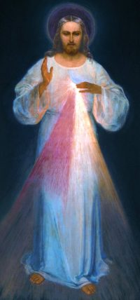 Portrait Representing Our Lord's Divine Mercy